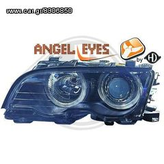 bmw e46 coupe 98-01 φαναρια εμπρος angel eyes eautoshop.gr δ...