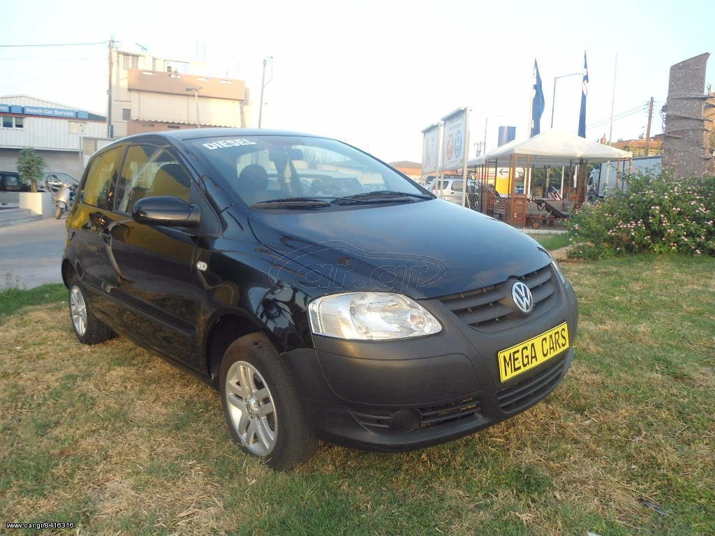 volkswagen fox 1 4 diesel tdi 39 2007 5500 0 eur. Black Bedroom Furniture Sets. Home Design Ideas
