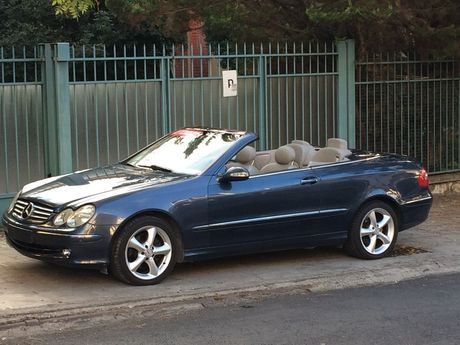 mercedes benz clk 200 1800cc aytomato cabrio 39 05 eur. Black Bedroom Furniture Sets. Home Design Ideas