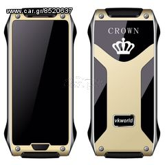 GOLD ...  VKWorld Crown ... V8 .. Smart Phone ... Dual  Nano...
