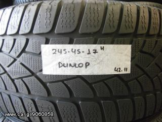 4 TMX 245-45-17 DUNLOP SP WINTER SPORT 3D DOT 42.11 *BEST CHOICE TYRES*