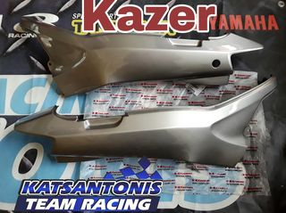 Ουρες γνησιες ασημι  Kawasaki kazer ...by katsantonis team racing