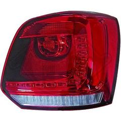 VW POLO 6R LED ΦΑΝΑΡΙΑ ΠΙΣΩ ΚΟΚΚΙΝΑ/RED