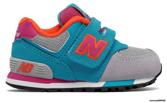 7743e022504 New Balance KV574WTI Cut and Paste Hook and Loop Παπούτσια Παιδικά ...