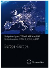 Mercedes Benz Navigations DVD Comand APS  Europa 2017-18